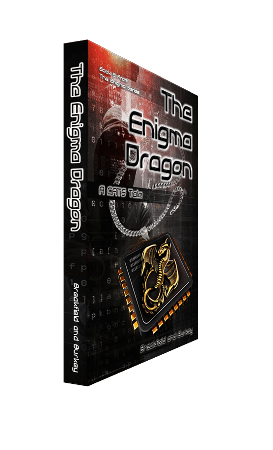 What we were thinking: The Enigma Dragon-A CATS Tale #9 of the Enigma Book Series-